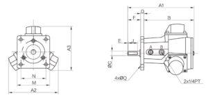 chertezh Piston Air Motor AM4-F