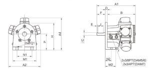 Piston Air Motor AM6-L